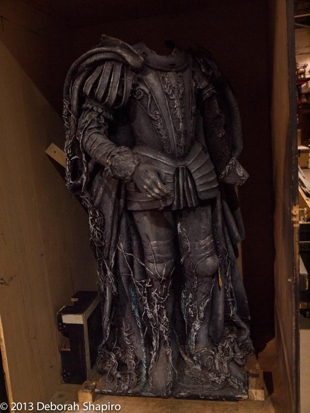 O statua gentilissima del gran Comendatore