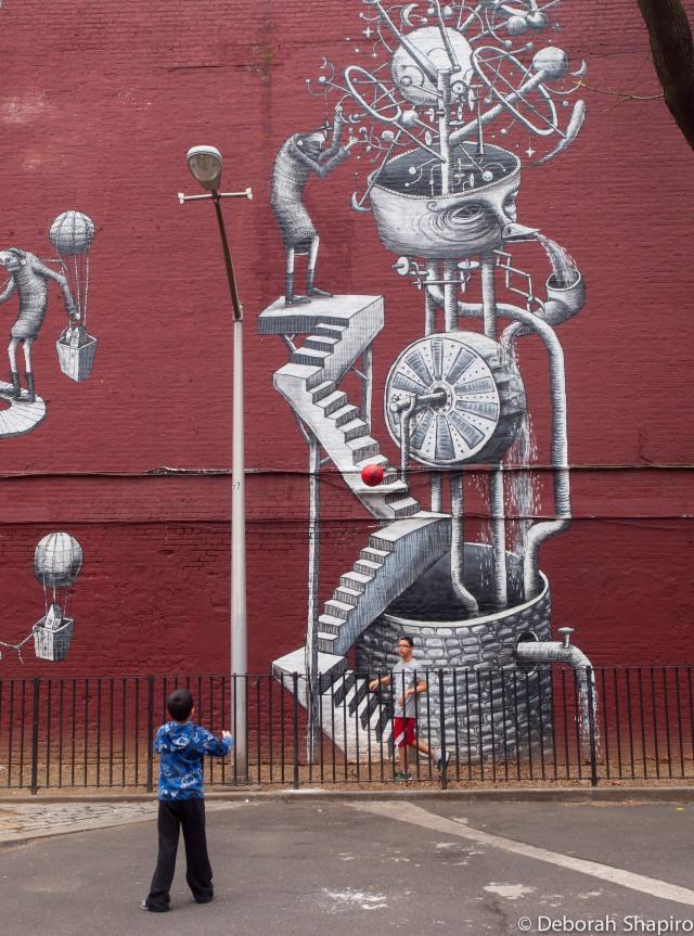 Mural by Phlegm