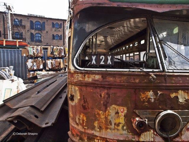 Post-industrial Red Hook, Brooklyn