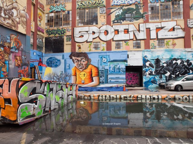5 Pointz courtyard