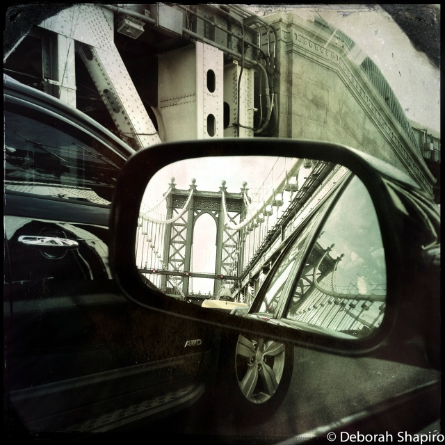 Stuck in Traffic on the Manhattan Bridge