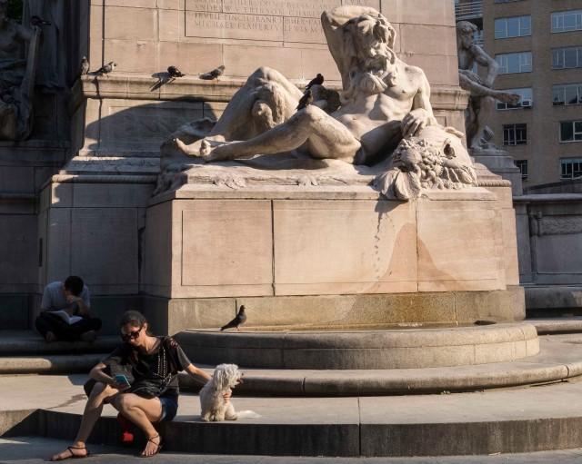 Summer Solstice, Columbus Circle