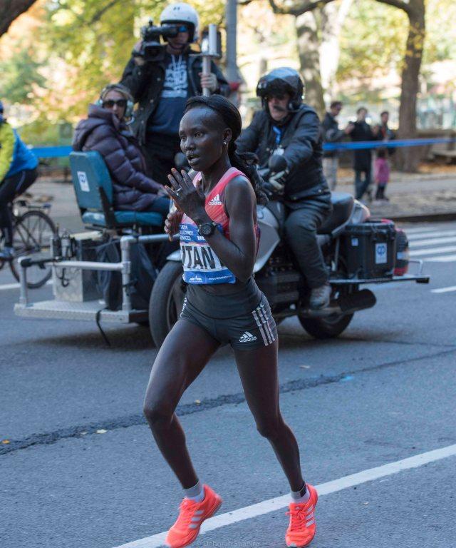 Mary Keitany, New York Marathon winner, November 2016