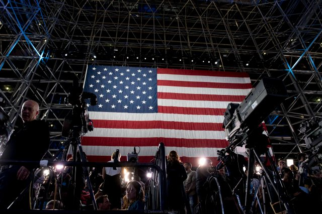 Election night 2016, Javits Center