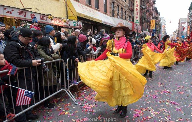 Dancers on Mott Street